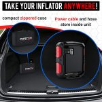 FORTEM Digital Tire Inflator for Car Portable Air Compressor-5