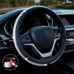 Diamond Leather Steering Wheel Cover-2