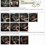 Diamond Leather Steering Wheel Cover-7