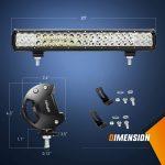 LED Light Bar Nilight 20 Inch-2