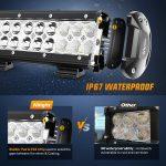 LED Light Bar Nilight 20 Inch-6